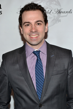 Rob McClure is a 2013 Theatre World Award winner for his performance as the title character in <i>Chaplin</i>.<br />(© David Gordon)