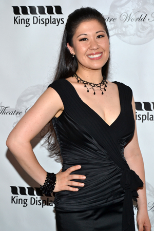 For her work as Imelda Marcos in <i>Here Lies Love</i>, Ruthie Ann Miles is named a 2013 Theatre World Award winner.<br />(© David Gordon)