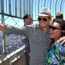 Broadway's 2013 Tony Award Nominees Check Out New York City at the Top of the Empire State Building