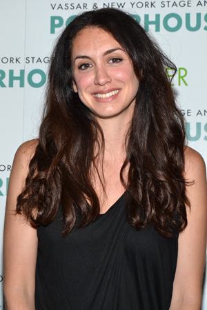 Mozhan Marnò, the playwright of <i>When the Lights Went Out</i>.<br />(© David Gordon)