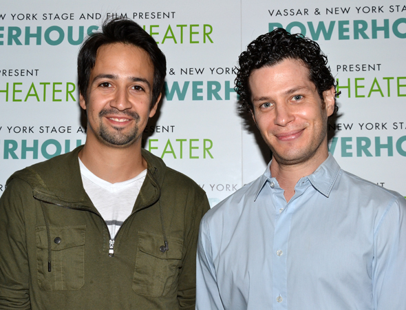 Composer/lyricist Lin-Manuel Miranda and director Thomas Kail will collaborate on a reading of Miranda's new musical, <i>The Hamilton Mixtape</i>.<br />(© David Gordon)
