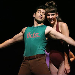 Tony Yazbeck and Chryssie Whitehead in <i>A Chorus Line</i>