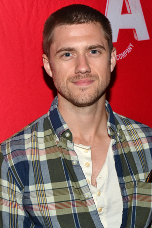 Guests at the opening include Broadway veteran and TV's <i>Graceland</i> star Aaron Tveit.<br />(© David Gordon)