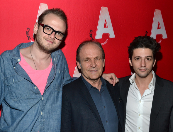 The men of <i>Good Television</i>: Luke Robertson, Ned Van Zandt, and John Magaro.<br />(© David Gordon)