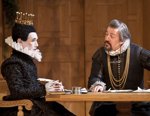 Mark Rylance and Stephen Fry in <i>Twelfth Night</i>