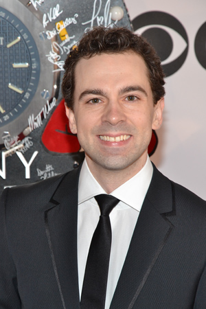 Rob McClure is nominated for Best Performance by a Leading Actor in a Musical for his portrayal of Charlie Chaplin in last fall's <I>Chaplin</I>.<br />(© David Gordon)