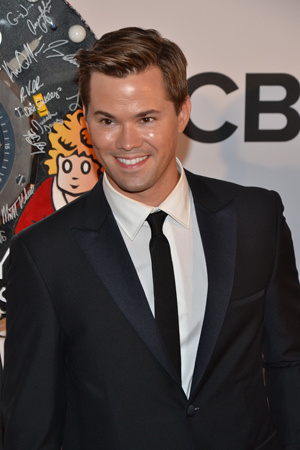 Andrew Rannells (<I>The New Normal</I>) was nominated for Best Performance by an Actor in a Leading Role in a Musical in 2011 for <I>The Book of Mormon</I>. He performs tonight. <br />(© David Gordon)