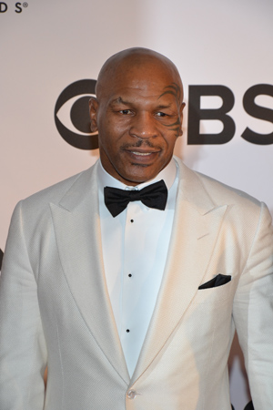 Boxer Mike Tyson made his Broadway debut this season in his one-man show, <I>Mike Tyson: Undisputed Truth</I>.<br />(© David Gordon)
