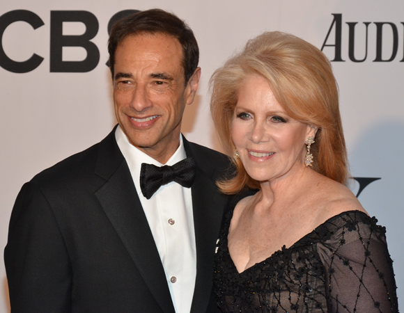 <I>Kinky Boots</I> producers Hal Luftig and Daryl Roth are looking to win big tonight with Best Musical.<br />(© David Gordon)