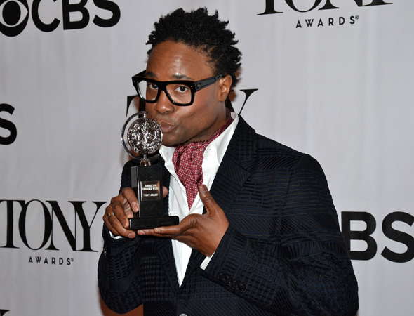 Billy Porter, Best Leading Actor in a Musical for <i>Kinky Boots</i><br />(© David Gordon)