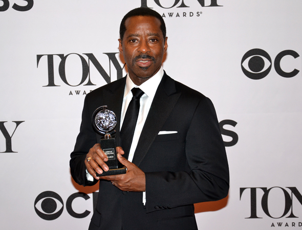 Courtney B. Vance, Best Featured Actor in a Play for <i>Lucky Guy</i><br />(© David Gordon)