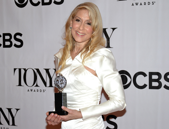 Judith Light, Best Featured Actress in a Play for <i>The Assembled Parties</i><br />(© David Gordon)