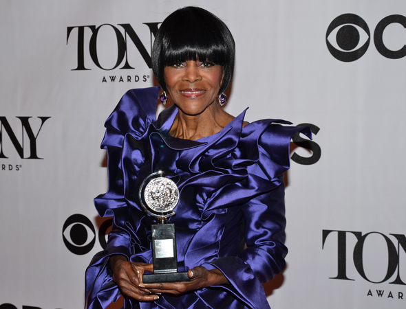 Cicely Tyson, Best Actress in a Play for <i>The Trip to Bountiful</i><br />(© David Gordon)