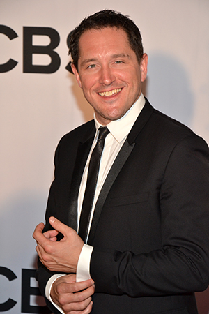 Bertie Carvel is nominated for his performance as Miss Trunchbull in <i>Matilda</i>.<br />(© David Gordon)