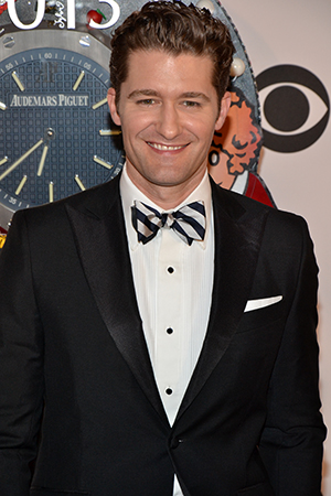 Matthew Morrison is one of the stars of the hit television series <i>Glee</i>.<br />(© David Gordon)