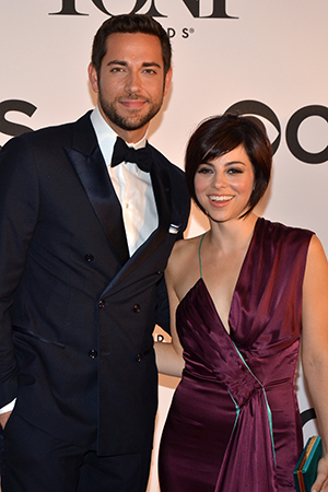 Zachary Levi and Krysta Rodriguez will star in the upcoming Broadway production of the new musical <i>First Date</i>.<br />(© David Gordon)