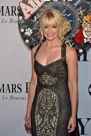 Beth Behrs is one of the stars of the hit CBS series <i>Two Broke Girls</i>.<br />(© David Gordon)