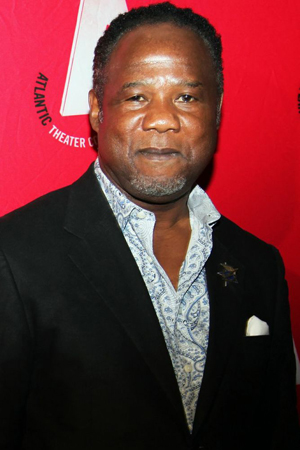 Among the guests at the opening was Atlantic company member Isiah Whitlock, Jr.<br />(© Annie Govekar)