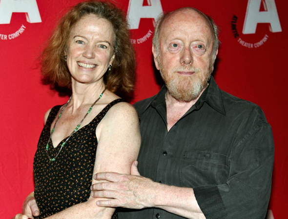 "Peter Maloney, who appears in ""Funiage,"" smiles alongside his wife, actress Kristin Griffith.<br />(© Annie Govekar)"
