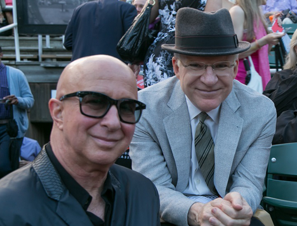 Paul Shaffer and Steve Martin are among the guests for the concert production.<br />(© Simon Luethi)