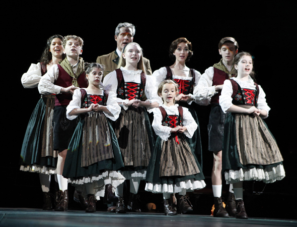 The von Trapp family sings