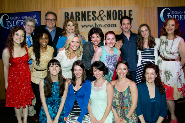 The cast and creative team behind <i>Cinderella</i>.<br />(© David Gordon)