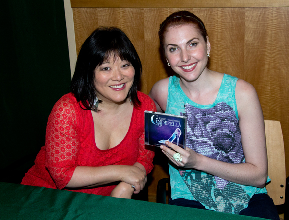 Ann Harada and Marla Mindelle present the Original Broadway Cast Recording of <i>Cinderella</i>.<br />(© David Gordon)