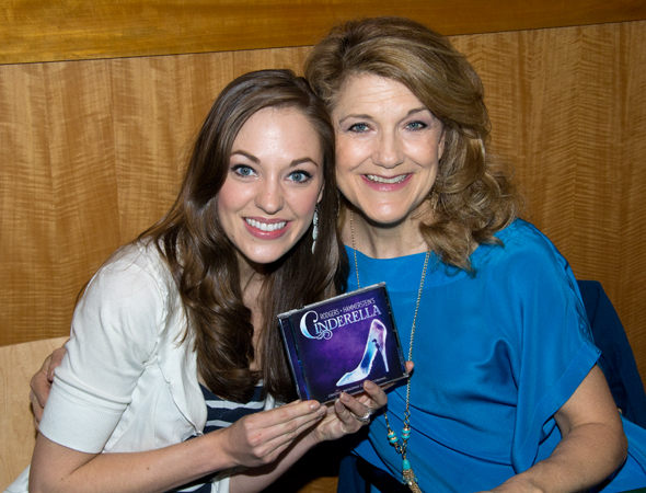 Laura Osnes and Victoria Clark get close for the camera.<br />(© David Gordon)