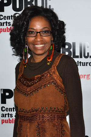 <i>Doubt</i> Tony Award winner Adriane Lenox is also ready to lead the cheering section.<br />(© David Gordon)