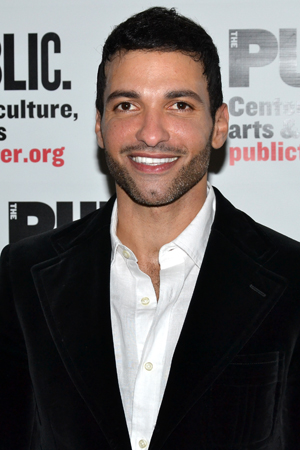 Haaz Sleiman takes on the title role, political revolutionary Venice Monroe.<br />(© David Gordon)