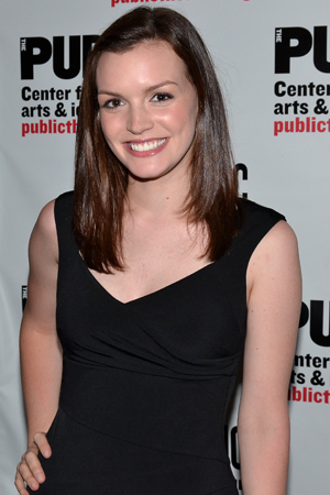Tony Award nominee Jennifer Damiano plays Venice's love interest, Willow Turner.<br />(© David Gordon)