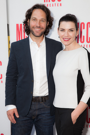 <i>The Mercy Seat</i> stars Paul Rudd and Julianna Margulies ready to hit the stage. <br />(© Seth Walters)