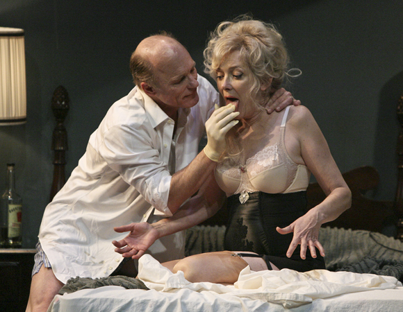 Ed Harris and Glenne Headly in <i>The Jacksonian</i>