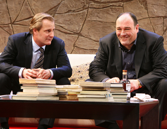 Jeff Daniels starred opposite Gandolfini as Alan, a lawyer.   <br />(© Joan Marcus)