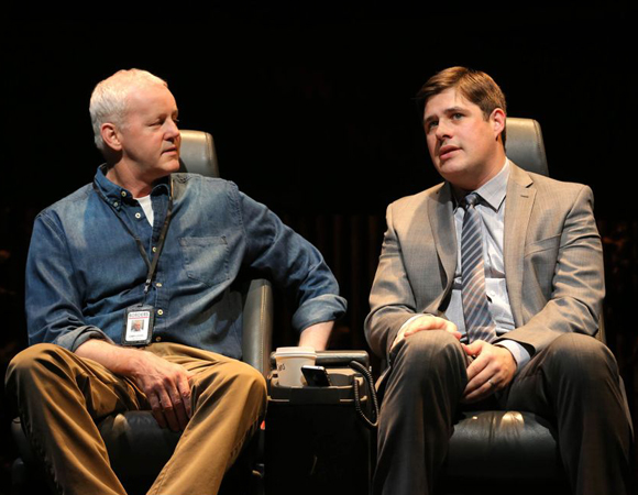 David Morse and Rich Sommer in <i>The Unavoidable Disappearance of Tom Durnin</i>