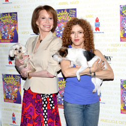 Mary Tyler Moore and Bernadette Peters