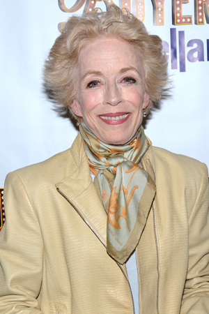 Holland Taylor spends her off night from Broadway's <i>Ann</i> at <i>Buyer & Cellar</i>.<br />(© David Gordon)
