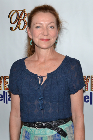Julie White is getting ready to take over the role of Masha in Broadway's <i>Vanya and Sonia and Masha and Spike</i>.<br />(© David Gordon)