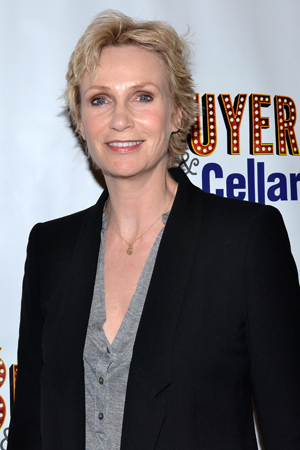 Jane Lynch spends her night off from <i>Annie</i> with Michael Urie and <i>Buyer & Cellar</i>.<br />(© David Gordon)