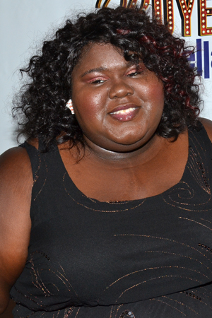 Gabourey Sidibe is ready for a night at the theater.<br />(© David Gordon)
