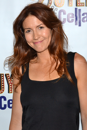 Michelle Clunie is on hand to cheer for <i>Buyer & Cellar</i>.<br />(© David Gordon)