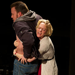 Eric T. Miller and Suzy Jane Hunt in <i>rogerandtom</i>