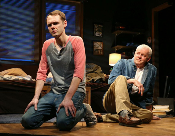 Christopher Denham and David Morse in <i>The Unavoidable Disappearance of Tom Durnin</i>.