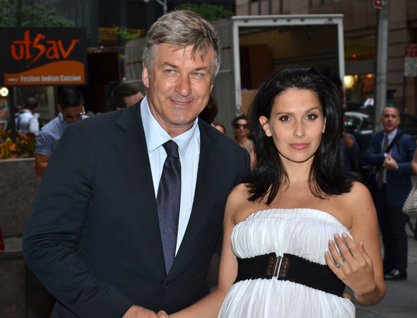 Alec and Hilaria Baldwin are ardent supporters of Roundabout Theatre Company and brand-new plays.<br />(© David Gordon)