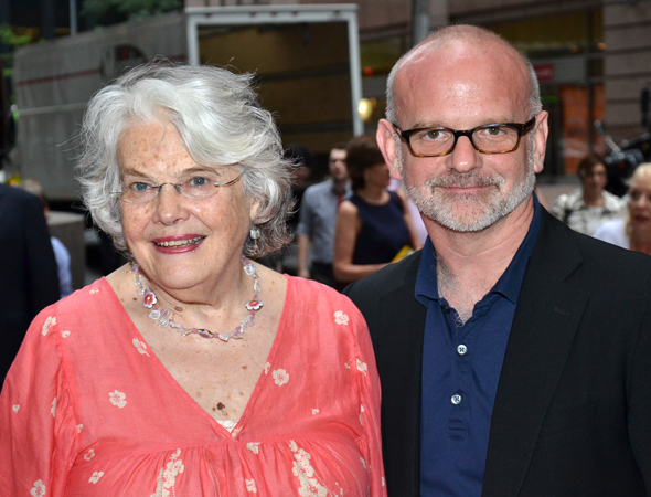 Lois Smith and Michael Wilson are gearing up to work together on Signature Theatre Company's production of Horton Foote's <i>The Old Friends</i>.<br />(© David Gordon)