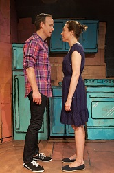 David Wilson Barnes and Rebecca Henderson in <i>La Brea</i>