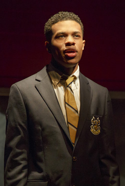 Jeremy Pope in <i>Choir Boy</i>