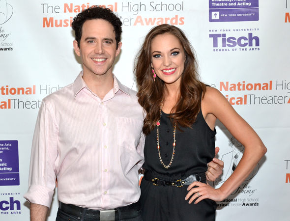 The evening was hosted by <i>Cinderella</i> stars Laura Osnes and Santino Fontana.<br />(© David Gordon)