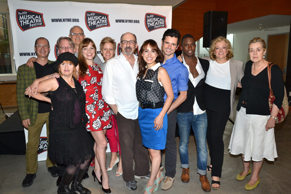 The full company of the new musical <i>Marry Harry</i>.<br />(© David Gordon)
