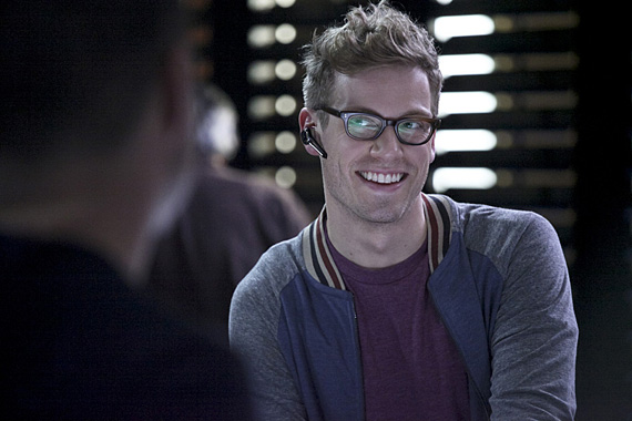 Barrett Foa as Eric Beale in <I>NCIS: Los Angeles</I>.